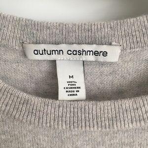 Autumn Cashmere Sweaters - Autumn Cashmere Peekaboo Sweater, size M, EUC